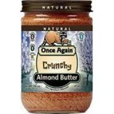 Once Again Almond Butter Crnchy Ns (12x16oz ) - Rhea Manor Natural Market