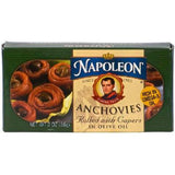 Napoleon Co. Anchovies Rolled (1x2oz ) - Rhea Manor Natural Market