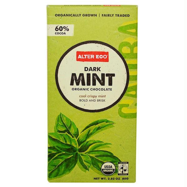 Alter Eco Chocolate Dark Mint (12x2.82oz ) - Rhea Manor Natural Market