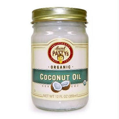 Aunt Patty's Coconut Oil (6x12oz ) - Rhea Manor Natural Market