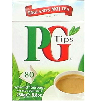 Pg Tips Pyrmd Black Tea 80 (12x80bag ) - Rhea Manor Natural Market