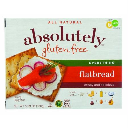 Absolutely Gluten Free Flatbrd Everything (12x5.29oz ) - Rhea Manor Natural Market
