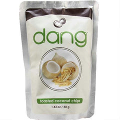 Dang Toasted Coconut Chips (12x1.43oz ) - Rhea Manor Natural Market