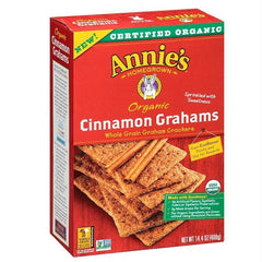 Annie's Homegrown Cinnamon Grah Crakers (12x14.4oz ) - Rhea Manor Natural Market