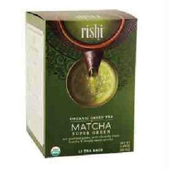 Rishi Tea Matcha Super Green (6x15 Bag) - Rhea Manor Natural Market
