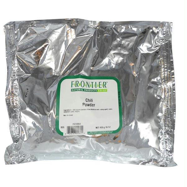 Frontier Chili Powder N/s (1x1lb ) - Rhea Manor Natural Market