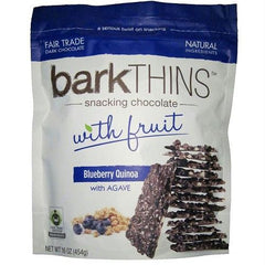 Bark Thins Dark Chocolate, Blueberry Quinoa (12x4.7 Oz) - Rhea Manor Natural Market