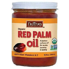 Nutiva Red Palm Oil (6x15oz ) - Rhea Manor Natural Market