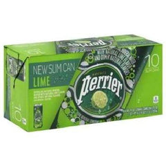 Perrier Sparkling Min Water Lime (3x10pack ) - Rhea Manor Natural Market