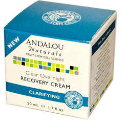Andalou Naturals Clear Night Recovery Creme (1x1.7oz ) - Rhea Manor Natural Market