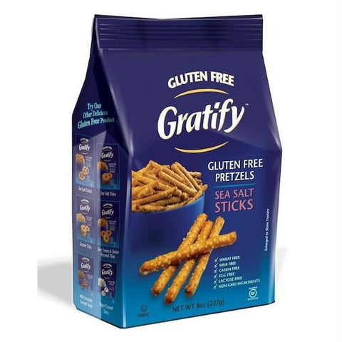 Gratify Pretzel Sticks Gf (6x14.1oz )