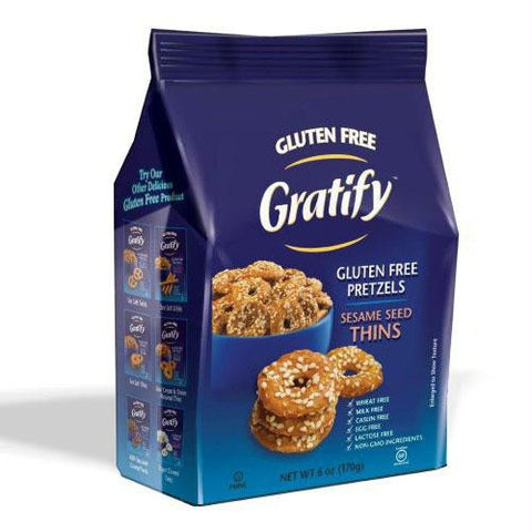 Gratify Pretzel Seasme Gf (6x14.1oz )