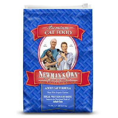 Newman's Own Organics Adlt Cat Ckn Rice (8x3lb )