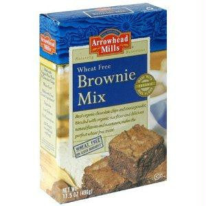 Arrowhead Mills Brownie Mix W/f (6x17.5oz ) - Rhea Manor Natural Market