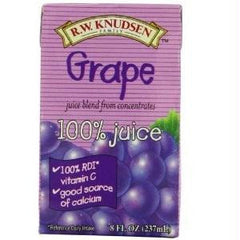 R.w. Knudsen Family Grape Jcbox (7x4pack ) - Rhea Manor Natural Market