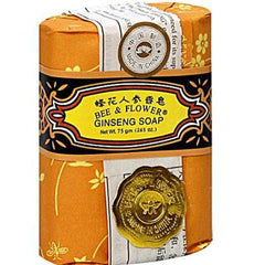 Bee & Flower Soaps Ginseng Soap (12x2.65oz ) - Rhea Manor Natural Market