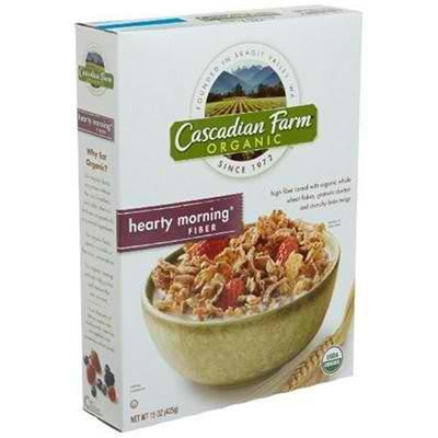 Cascadian Farm Hearty Morning (10x14.6oz ) - Rhea Manor Natural Market