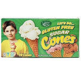 Edward & Sons Sugar Cones Gf (12x4.6oz )