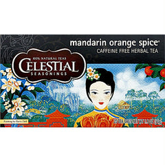 Celestial Seasonings Mandarin Orange Spice (6x20bag ) - Rhea Manor Natural Market