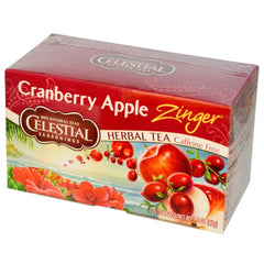 Celestial Seasonings Cranberry Apple Zngr/vit C (6x20bag ) - Rhea Manor Natural Market