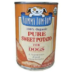 Nummy Tum-tum Pure Sweet Potato Dog (12x15oz ) - Rhea Manor Natural Market