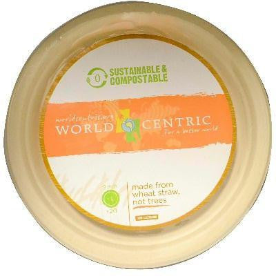 World Centric Fiber Plate 9in (12x20 Ct) - Rhea Manor Natural Market