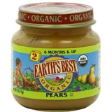 Earth's Best Baby Foods Baby Pear Puree (12x4oz )