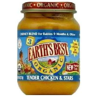 Earth's Best Baby Foods Baby Chicken/star Sp (12x6oz )