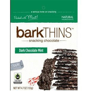 Bark Thins Dark Chocolate Mint (12x4.7oz ) - Rhea Manor Natural Market