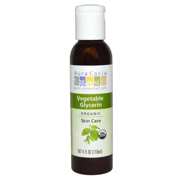 Aura Cacia Vegetable Glycerin (4 Oz) - Rhea Manor Natural Market