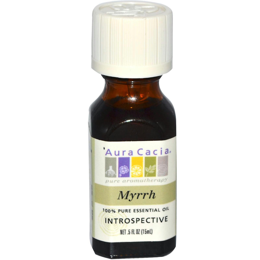 Aura Cacia Myrrh Essential Oil (1x0.5oz ) - Rhea Manor Natural Market