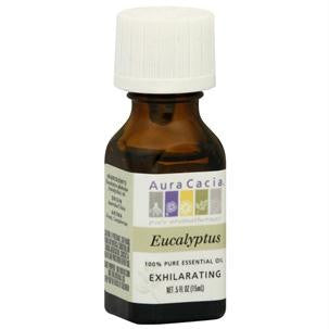 Aura Cacia Essence Oil Eucalyptus (3x0.5oz ) - Rhea Manor Natural Market