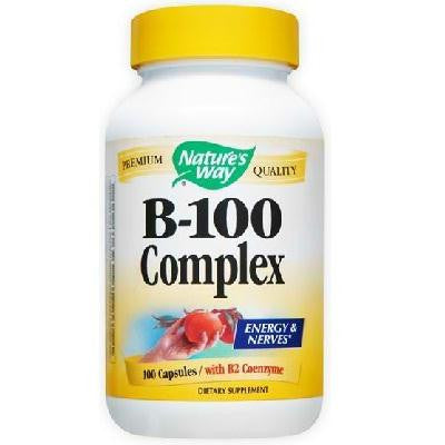 Nature's Way B100 Complex (1x100cap ) - Rhea Manor Natural Market