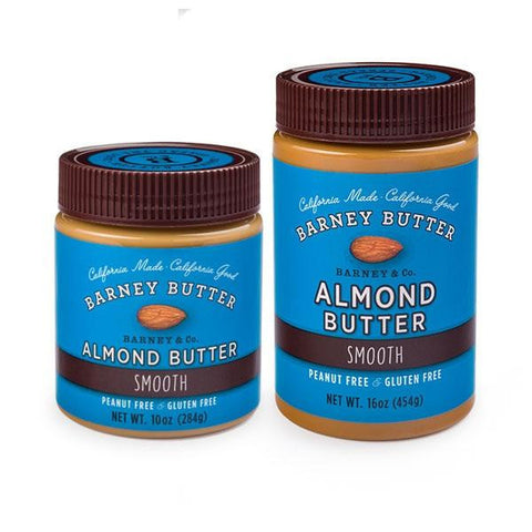 Barney Bare Smooth Almond Butter  (6x10 Oz)