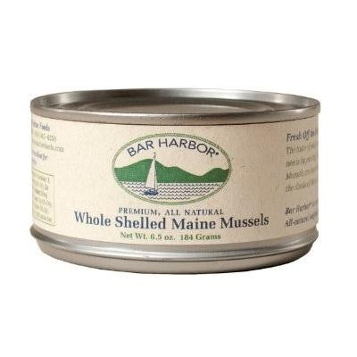 Bar Harbor Whole Shelled Maine Mussels (12x6.5 Oz)