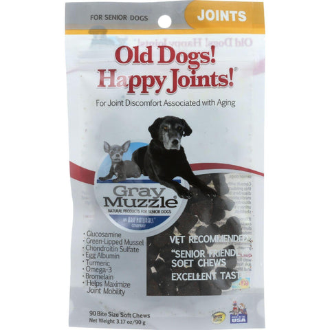 Ark Naturals Old Dog Happy Joints  Gray Muzzle  90 Chews