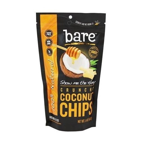 Bare Fruit Coconut Chips -show Me The Honey  (12x40 Grm)