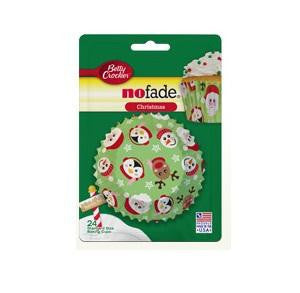 Betty Crocker Christmas Cupcake Liners Display (12x24 Ct)