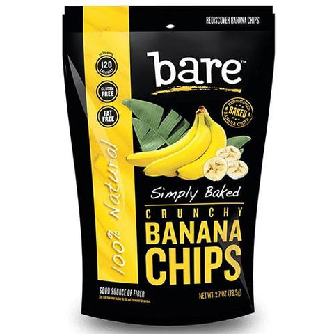 Bare Fruit Banana Chip Simply Baked (12x2.7 Oz)