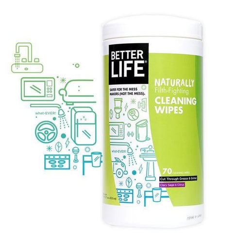 Better Life All-purpose Cleaner Wipes (6x70 Ct)