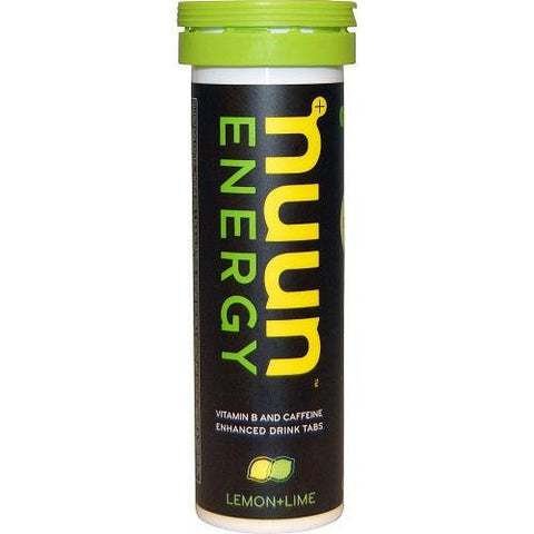 Nuun Hydration Drink Tab  Energy  Lemon Lime  10 Tablets  Case Of 8