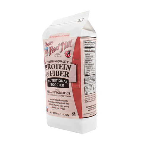 Bob's Red Mill Protein And Fiber Nutritional Booster  16 Oz  Case Of 4