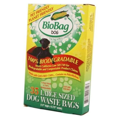 Biobag Biodegradable Dog Waste Bags Large (12x35 Ct)