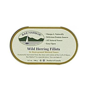 Bar Harbor Wild Herring Fillets In Stone-ground Mustard Sauce (12x7 Oz)