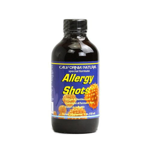 California Natural Allergy Shots (4 Fl Oz)