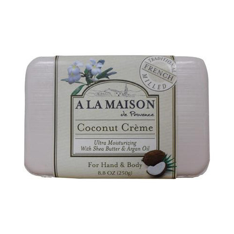 A La Maison Bar Soap Coconut Creme (8.8 Oz)