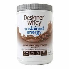 Designer Whey Chocolate Velvet, With Soy (1x1.5 Lb)