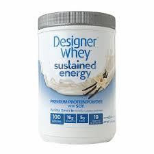 Designer Whey Vanilla Bean, With Soy (1x1.5 Lb)