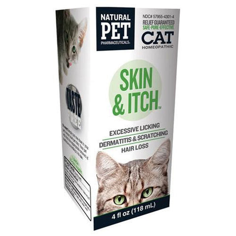 King Bio Homeopathic Natural Pet Cat Skin And Itch (1x4 Oz)