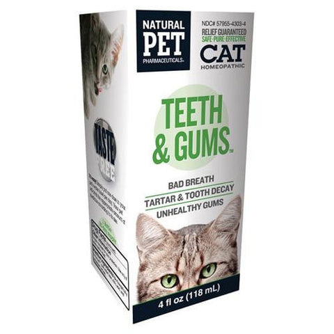 King Bio Homeopathic Natural Pet Cat Teeth And Gums (1x4 Oz)